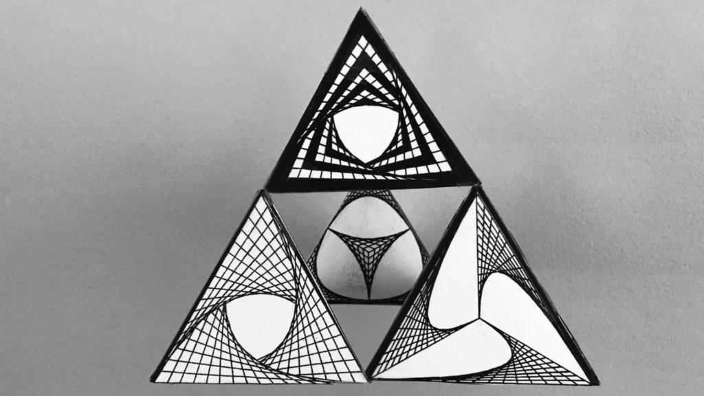 Tetra pyramid